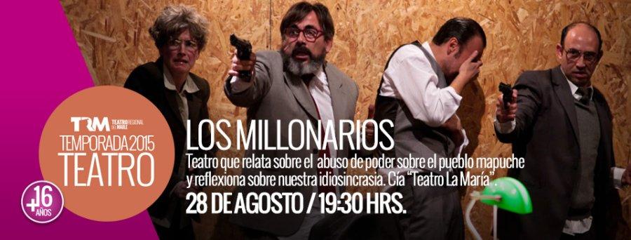 Los Millonarios en el Teatro Regional del Maule
