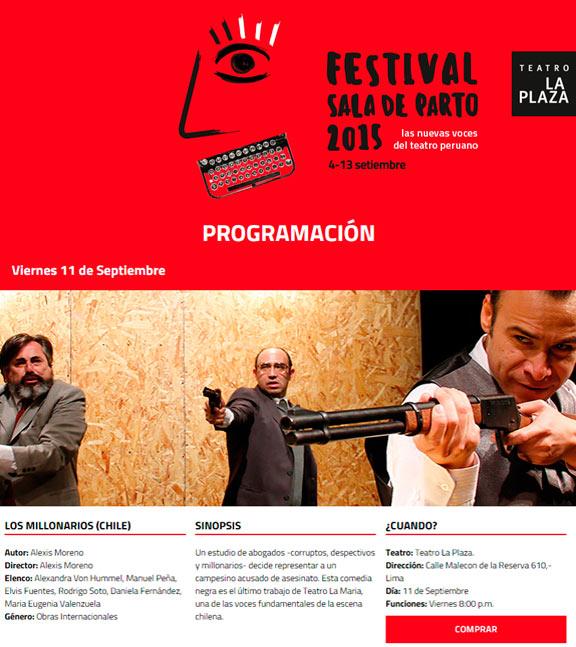 Teatro La María en LIMA