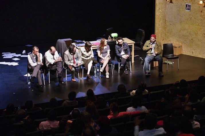 """Encuentro con el público de """"Los Millonarios"""", Festival Sala de Parto"""